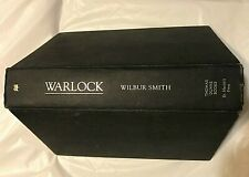 Wilbur Smith WARLOCK First Edition 1st Printing Ancient Egypt Novel of Adventure