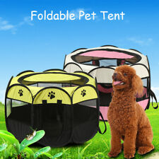 Portable Foldable Pet Playpen Tent Dog Exercise Play Kennel Dogs Cats Nest House