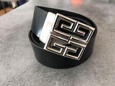 GIVENCHY - Black Belt / Ceinture Noire - Taille / Size 90 - 95