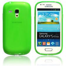 Samsung Galaxy S3 Mini Hülle Tasche Schutz Case Back Cover Grün / Glow