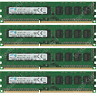 Samsung 32GB KIT 4X8GB PC3-12800E DDR3-1600Mhz ECC Unbuffered Memory Ram @4