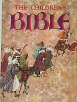 The Children's Bible Golden Press 1976 Large Hardcover Vintage Book