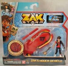 Zak Storm Zak's Hover Vehicle & Figure Scan Treasure Coins In Loot Game 4+ New