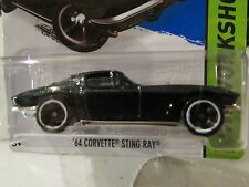 Hot Wheels '64 Corvette Sting Ray HW Workshop Green KMart