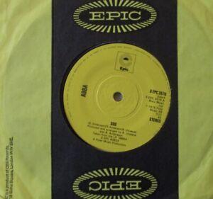 """ABBA - SOS - 7"""" Single"""