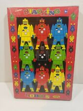 Schylling Wooden Stacking Robots Brand New (Building, Balancing, Creative, Kids)