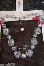 NWT Kate Spade Crystal garden Collar Necklace $398