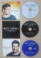 MATT CARDLE The Fire 2012 UK 10-trk promo CD + two bonus CD singles