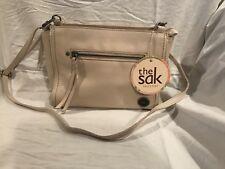 NWT SAK Cabrillo Leather Style 107267 Color Stone Cross-Body Bag