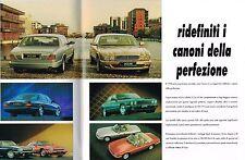 1995 Jaguar Italiano FOLLETO: XJ6, Xj12, xjr , doble 6 , soberano, Xjs, Cabrio,