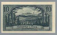Notgeld - Schierke - Gemeinde Schierke - 10 Pfennig - 1921 - Bild 2