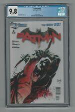 Batman #3 CGC 9.8 Greg Capullo Cover DC Comics The New 52 1/12 Scott Snyder