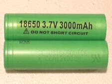 2 AUTHENTIC SONY US 18650 VTC6 HIGH DRAIN 30A Li-on Battery 3000mAh w/FREE CASE