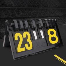 Waterproof Large 4-Digital Scoreboard Table Top Flip Score Count Numbers Board