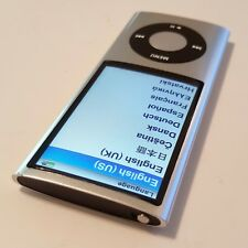 Apple iPod nano 8 GB Silver 5th Generation - with issue