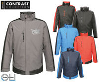 Embroidered Regatta Contrast Insulated Jacket workwear logo uniform personalised