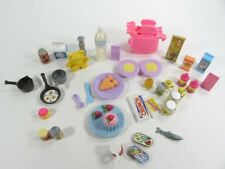 LIV Barbie Kelly Tommy Toaster, Food, Pots, Plates, Spoon, Fork. Will Separate.