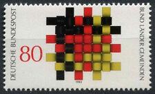 Allemagne de l'Ouest 1983 SG # 7172 communautés co-op neuf sans charnière #D 118