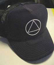 LoT of 10 Aa Alcoholics Anonymous Recovery Hat Caps circle triangle new 12 step