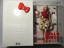 2017 Hello Kitty Barbie Doll Limited Edition new mint