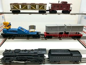 WOW!! Attic find! Lionel Set 2573 from 1961 w/736,736W,3545 TV car more! C5-C7