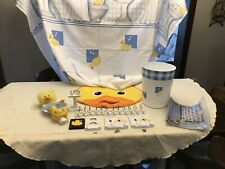 Duckie Bathroom Decor , Rug, Soap & Toothbrush Holder, Shower Curtain & More