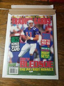 December 1995 Trading Cards Magazine Drew Bledsoe Cover