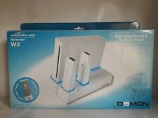 Nintendo Wii Charging Stand & Battery Pack for 2 controllers - Demon