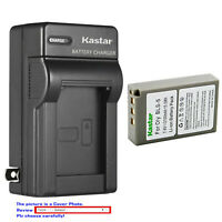 Kastar Battery AC Wall Charger for Olympus BLS-5 & Olympus E-420 E420 Camera