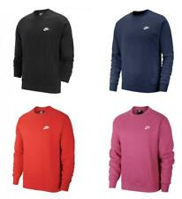 Nike Men's Sportswear Club Fleece Crew Neck Sweatshirt Pullover BV2662