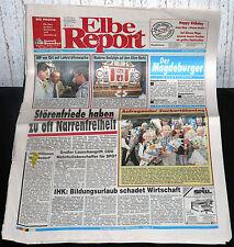 Zeitung, Magdeburger Elbe-Report vom 31.08.1997