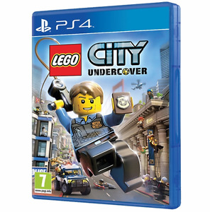 LEGO City Undercover PlayStation PS4 Xbox One Video Games adventure for kids