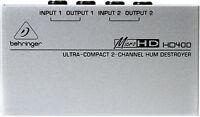 New Behringer HD400 Hum Destroyer Buy it Now! Best Offer Auth Dealer! Best Deal!