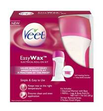 Veet Easy Wax Roll On Hair Remover Wax Kit (Damaged Box)