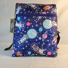 Conair Cats in Space Girls Navy Blue Beauty Makeup Cosmetics Backpack Travel Bag