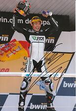 HIROSHI Aoyama mano firmato scozzese RACING HONDA 12x8 FOTO 2009 250cc CHAMPION 2.