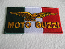 Aufnäher Patch Moto-Guzzi Motorsport Tuning Biker-MC Motorradsport Motorrad Race