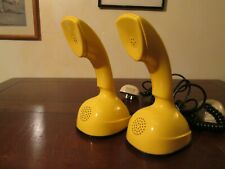 2 TELEFONI ERICSSON COBRA LM  GIALLO SPACE AGE VINTAGE MADE IN SWEDEN