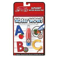 Melissa And Doug On The Go Water Wow Water Alphabet Reveal Pad NEW Crafts