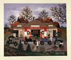 """Jane Wooster Scott Signed & Numbered L/ED Lithograph """" The Good Old Days """""""