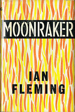 Moonraker by Ian Fleming~ Jonathan Cape 7th UK Printing 1964~