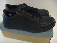 STONE CREEK OUTLAW SHOES TRAINER LACE SCHOOL OFFICE WORK WEDDING BOYS BLACK 11