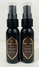 LOT of 2 Marrakesh Oil KAHM Vegetable Keratin Protein Argan & Hemp Oil Treatment
