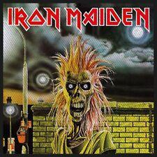 Iron Maiden Aufnäher - First Album  (SP2546)Iron Maiden Patch -Gewebt/Lizenz