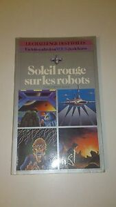 Christopher Black - Soleil rouge sur les robots - Livre-jeu