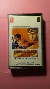 Major Saab (In Defence Of Love) Bollywood Soundtrack Cassette Tape (SCI, 1998)