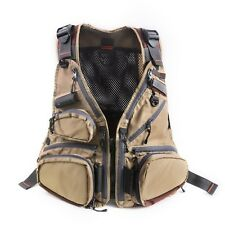 "New- Rede ""Midge"" Lightweight fly fishing vest/waistcoat with hand warmers."