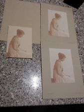 Joan L STOCK  taken in Baker Street 1919    3 identical images nice 230 x 160 mm