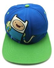 ADVENTURE TIME with FINN / Cartoon Network blue adjustable cap / hat