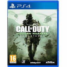 Call of Duty: Modern Warfare Remastered Video Game For Sony PS4 Sealed Brand New